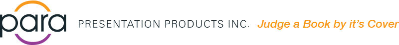 Para Presentation Products Inc. – Custom Binders, Clear Vinyl Sleeves and More